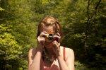 Kobieta robiąca zdjęcie